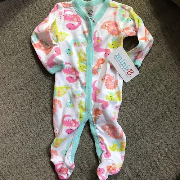 00ea46d62b0f8 Baby Starters One Pieces | Nwt Newborn Baby Girl Dinosaur One Piece ...
